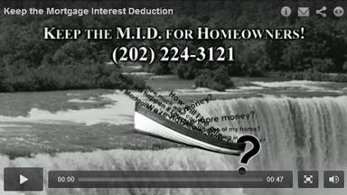 mortgage interest deduction video slide