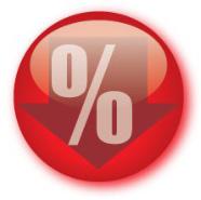 interest percentage sign