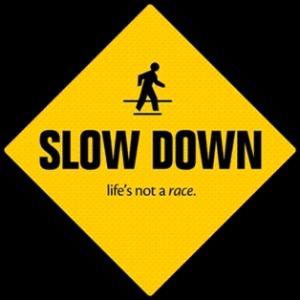 wellness slow down
