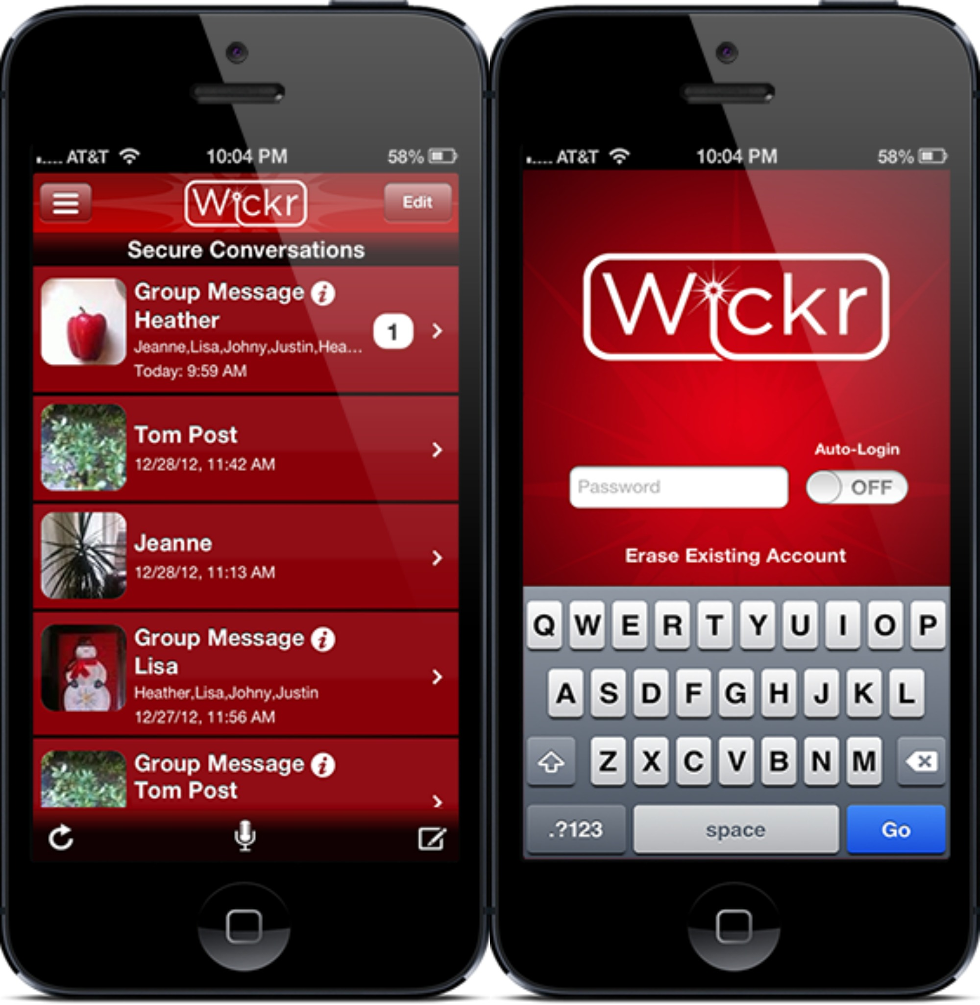 Inrero Cool Apps – Wickr: Top-Secret Messaging