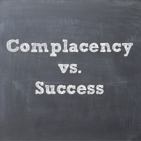 mojo complacency
