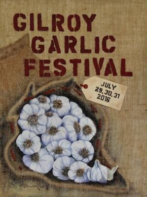 garlic fest 2016 art poster winner