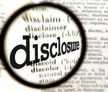 consigliere - disclosure